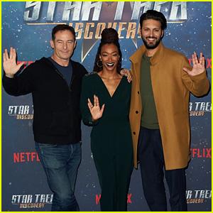 Jason Isaacs, Sonequa Martin-Green & Shazad Latif Attend 'Star Trek: Discovery' Fan Screening!