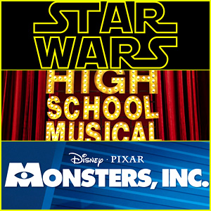 Star Wars,' 'High School Musical,' & 'Monsters, Inc ' to Get