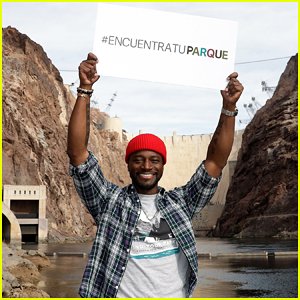 Taye Diggs Takes A Tour of the Lake Mead National Recreation Area for #FindYourPark Series!