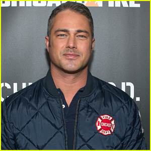 Taylor Kinney Joins 'Chicago Fire' Cast Mates at Chicago Press Day