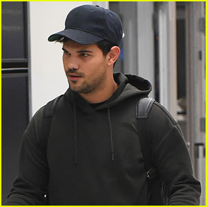 Taylor Lautner & Sister Makena Joke About Being Excited To See Each Other