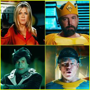 Jimmy Kimmel's 'Terrific Ten' Superhero Parody Features So Many A-List Celebs - Watch Now!