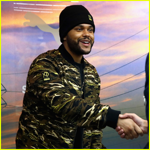 The Weeknd Meets Fans at Puma Pop-Up Shop in NYC!