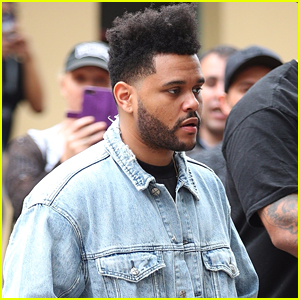The Weeknd Steps Out for Lunch in Australia