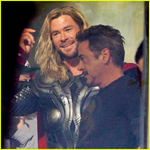 'Avengers 4' Set Photos Bring Chris Hemsworth & Robert Downey, Jr Together