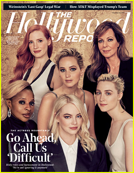 Jennifer Lawrence, Emma Stone, & A-List Stars Discuss Being a Woman in Hollywood