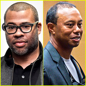 'Get Out' Director Jordan Peele Tells Tiger Woods He's in the 'Sunken Place'