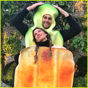 Tom Brady & Gisele Bundchen's Couples Halloween Costume Is So Cute!