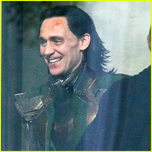 Tom Hiddleston Gets Into Loki Costume for Possible 'Avengers 4' Flashback Scene