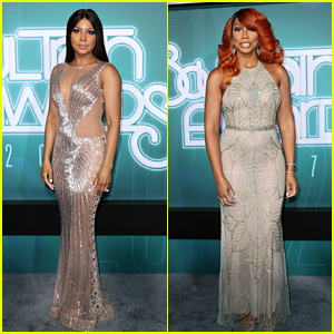 Toni & Tamar Braxton Go Glam on the Red Carpet at Soul Train Awards 2017!