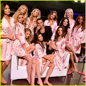 Victoria's Secret Angels Prep in Hair & Makeup for Shanghai Show 2017!