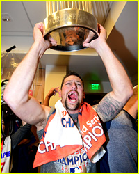 Houston Astros Partied in Locker Room After World Series Win!