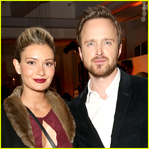 Aaron Paul's Wife Lauren Shows Off Her Growing Baby Bump!