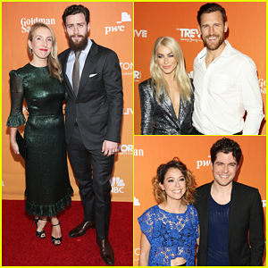 Aaron Taylor-Johnson, Tatiana Maslany, Julianne Hough & More Step Out for TrevorLIVE LA 2017!