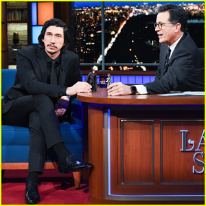 Adam Driver & Stephen Colbert Act Out 'Star Wars: The Last Jedi' Scene Using Action Figures