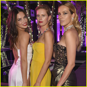 Adriana Lima & Karolina Kurkova Get Glam For Creatures of the Night Soiree!