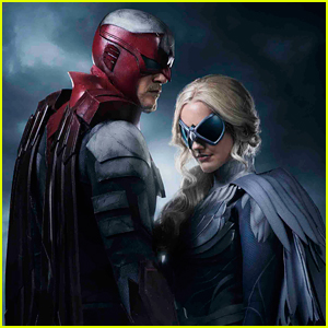 Alan Ritchson & Minka Kelly in 'Titans' as Hawk & Dove - First Look Photo!
