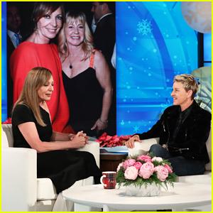 Allison Janney Tells 'Ellen' What Real-Life Tonya Harding Thinks About 'I, Tonya'!