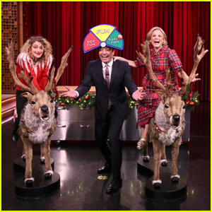 Amy Sedaris & Jimmy Fallon Demo the Hottest Holiday Toys in Hilarious 'Tonight Show' Skit - Watch Here!