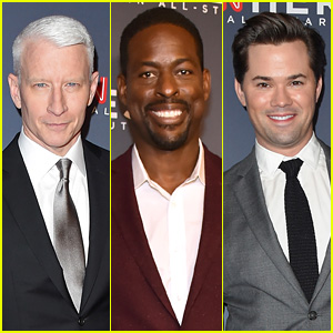 Anderson Cooper, Sterling K.  Brown, Andrew Rannells & More Hit the Red Carpet for CNN Heroes All-Star Tribute 2017!