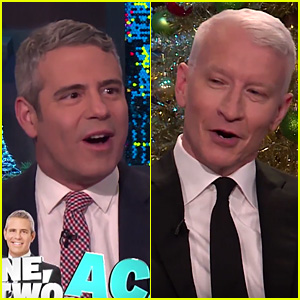 Anderson Cooper & Andy Cohen Reveal Which One Is Kinkier In Bed - Watch Now!