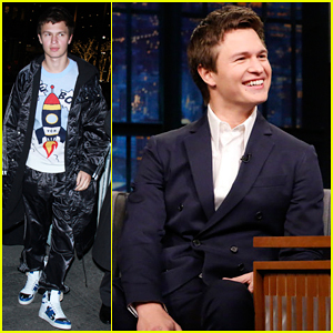 Ansel Elgort Reveals How He Got to Keep the Car from 'Baby Driver' on 'Late Night' - Watch Here!