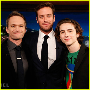 Armie Hammer Gets Advice From Neil Patrick Harris About His Broadway Debut on 'Jimmy Kimmel Live'!