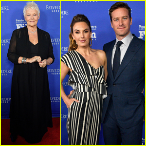 Armie Hammer & Elizabeth Chambers Help Honor Judi Dench at Santa Barbara Film Fest