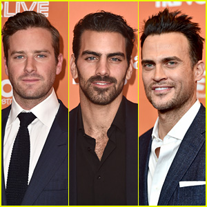 Armie Hammer, Nyle DiMarco & Cheyenne Jackson Hit the Red Carpet at TrevorLIVE LA 2017!