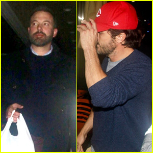 Ben Affleck & Brother Casey Take Their Mom Out for Dinner