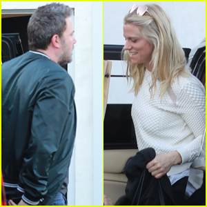 Ben Affleck is Joined by Girlfriend Lindsay Shookus at a Meeting