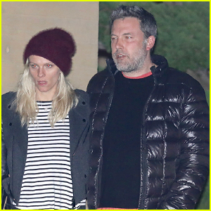 Ben Affleck & Lindsay Shookus Couple Up for Post-Christmas Dinner Date