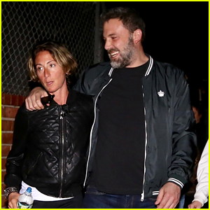 Ben Affleck Stops By a Buddhist Center with Friends