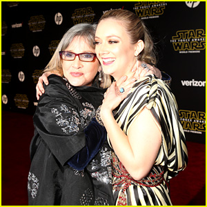 Billie Lourd Writes Emotional Tribute on the One Year Anniversary of Her Mother Carrie Fisher's Death