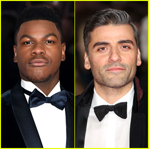 John Boyega & Oscar Isaac Hit the Red Carpet at 'Star Wars: The Last Jedi' Premiere in London!