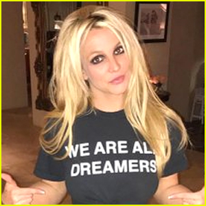 Britney Spears Bares Her Abs in Political 'DREAMers' Shirt