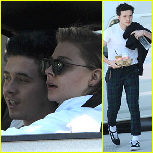 Chloe Moretz & Brooklyn Beckham Grab Large Takeout Order For Breakfast