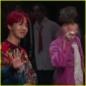 BTS Gets Fruit Launched at Them by James Corden - Watch!