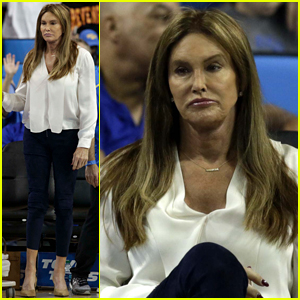 Caitlyn Jenner Cheers on UCLA Basketball Team