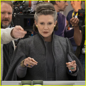 Carrie Fisher Wrote Some of Her Funniest Lines in 'The Last Jedi'