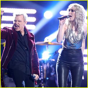 Chloe Kohanski Sings with Billy Idol on 'The Voice' Finale (Video)