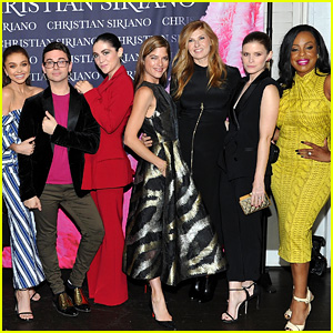 Christian Siriano Gets Support from So Many Stars at His Book Launch!