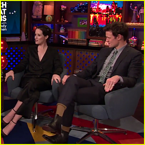 Claire Foy & Matt Smith Reveal What They Think About Prince Harry & Meghan Markle's Engagement!