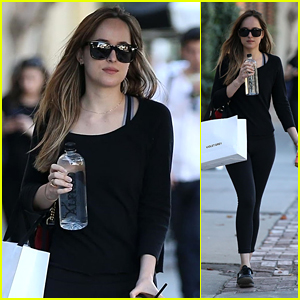 Dakota Johnson Steps Out to Shop & Goes for a Coffee Run in West Hollywood!