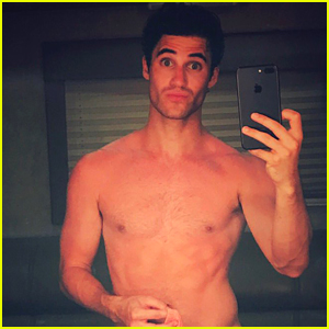 Darren Criss Shares the Story Behind His Racy Selfie!