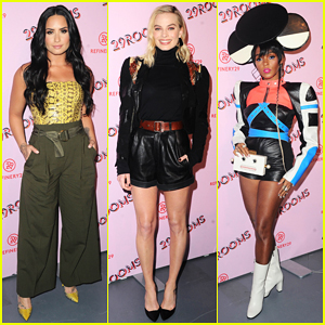 Demi Lovato, Margot Robbie, Janelle Monae & More Step Out for Refinery29' 29Rooms L.A!