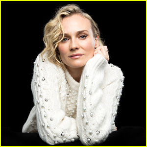 Diane Kruger Discusses Her Kellyanne Conway Spoof & Her New Movie 'In The Fade'!