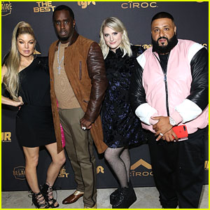 DJ Khaled Celebrates Birthday With 'The Four' Cast