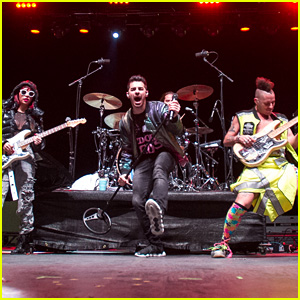 DNCE Performs for Military Members & Veterans at BaseFest in Florida!
