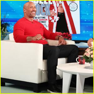 Dwayne Johnson Talks Baby Girl News on 'Ellen'!